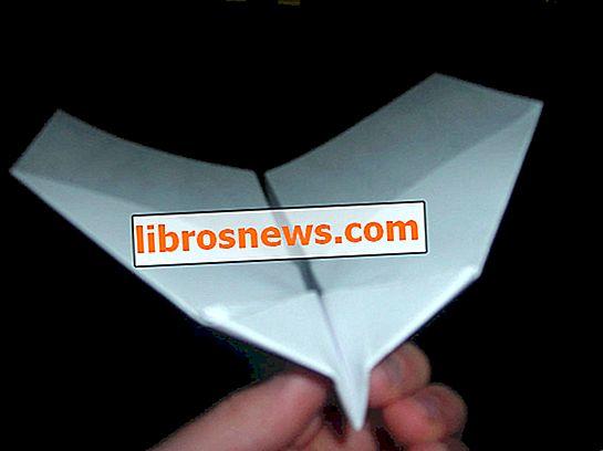 Wie man das BESTE Papier Stunt Flugzeug / Segelflugzeug macht