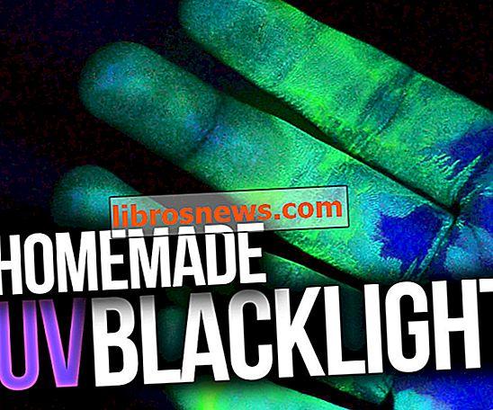 Machen Sie ein UV-Schwarzlicht zu Hause