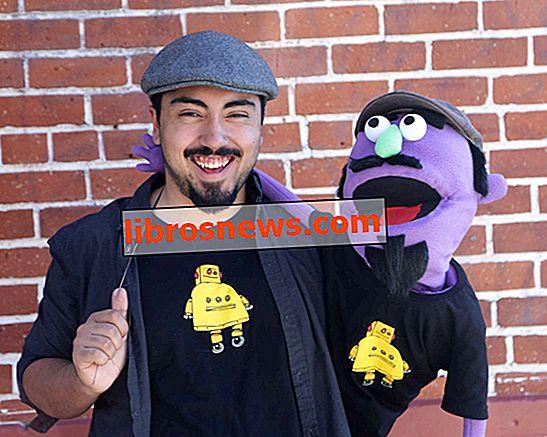 Marioneta Muppet DIY