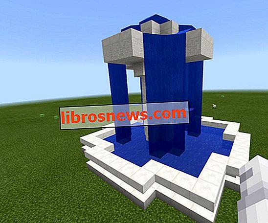 Minecraftの豪華な噴水