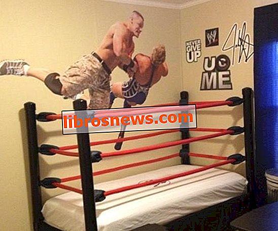 Buat Tempat Tidur Wrestling Ring