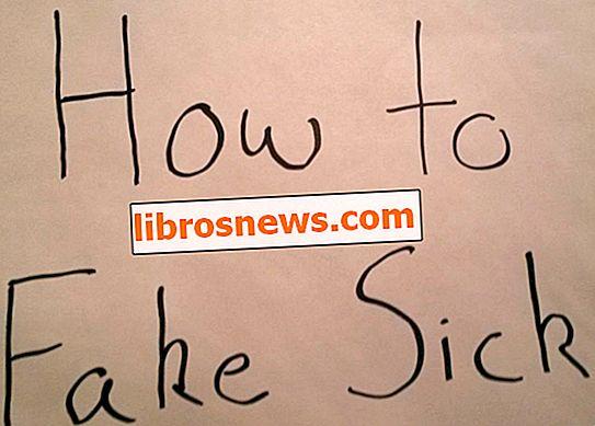 Cómo fingir enfermo