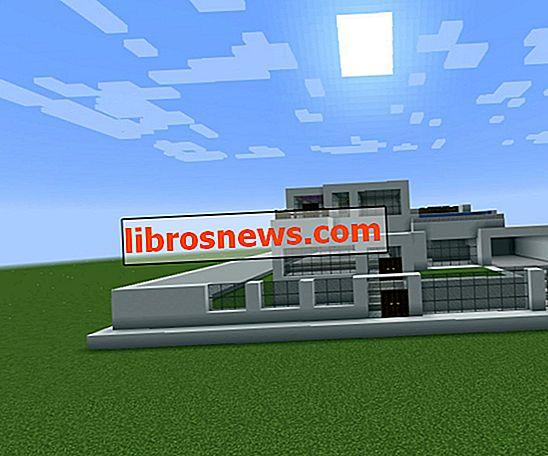 Grande casa moderna Minecraft