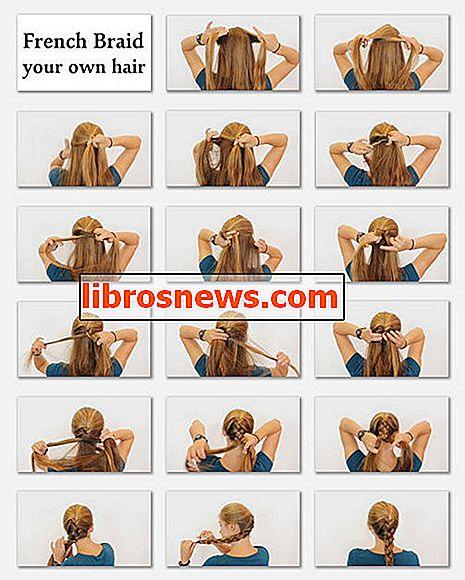 Cara French Braid Rambut Anda Sendiri