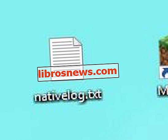 Nativelog.txt dosyasının Dekstop'ta (minecraft) Oluşturulması / Oluşturulması Nasıl Durdurulur