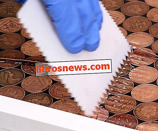 Proyecto de resina Penny Floor!