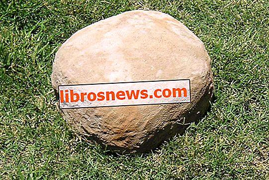 Cómo hacer rocas falsas