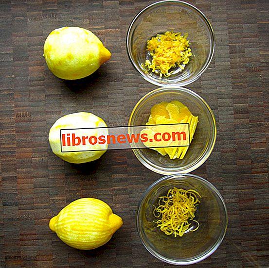 Come scorzare un limone