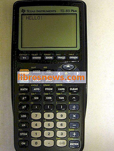 Fórmula cuadrática para las TI-83 y 84