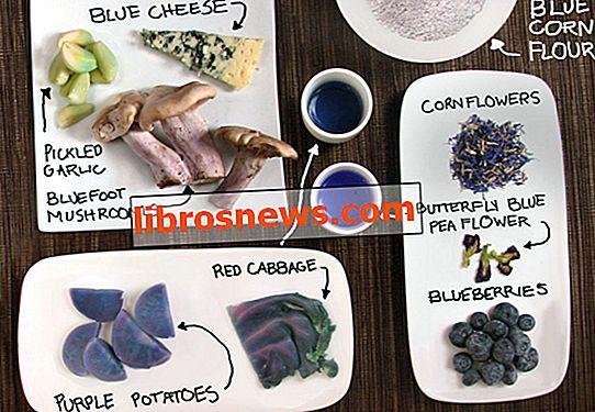 Makanan Biru!  Memasak Berwarna-warni Tanpa Pewarna Buatan