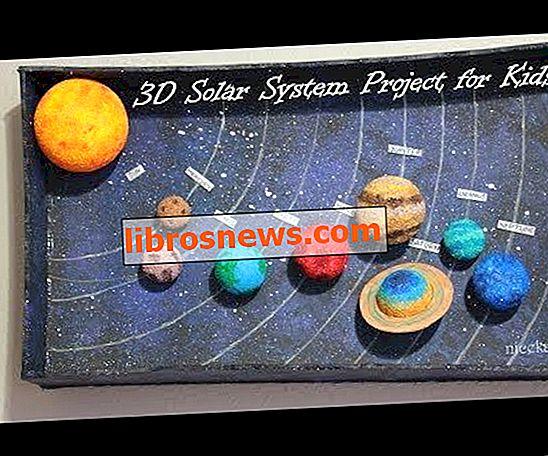 Bagaimana Membuat Projek Sistem Suria 3D untuk Kanak-kanak