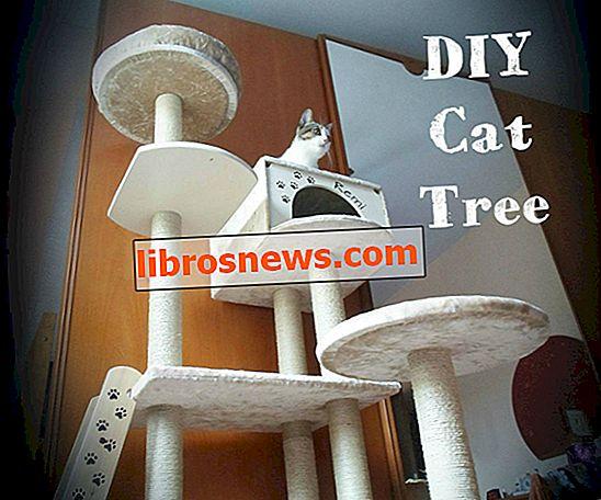 DIYキャットツリーハウス