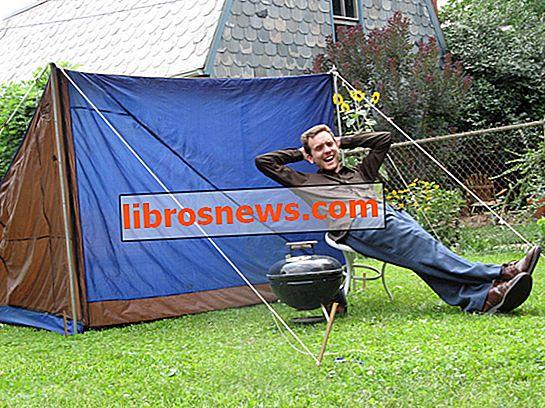 Das nahezu perfekte Zelt: Entwerfen und bauen Sie ein recyceltes Zelt