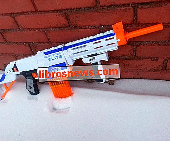 Nerf Retaliator Mod: Suppression du restricteur d'air et extension du canon