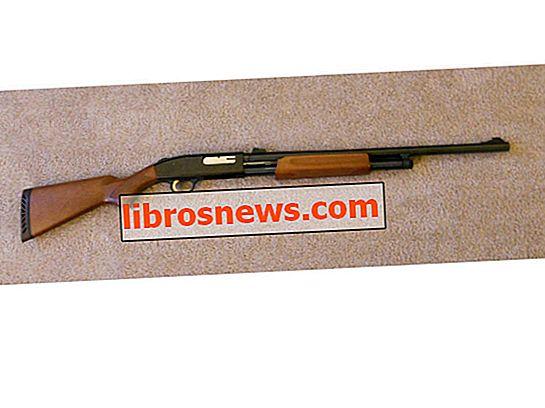 Cómo desmontar una escopeta Mossberg serie 500