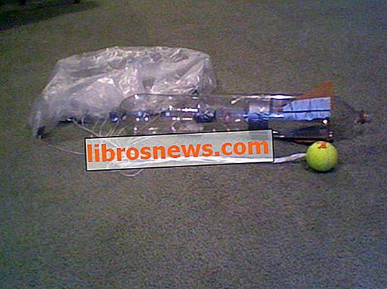 Cara Membangun Roket Botol Dengan Parasut.
