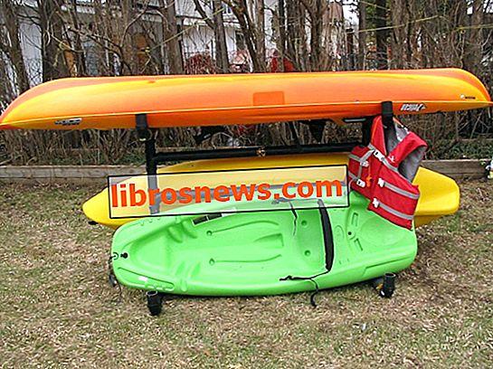 Come realizzare un rack di stoccaggio per kayak all'aperto