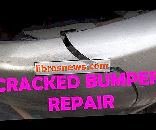 Reparación de parachoques agrietados
