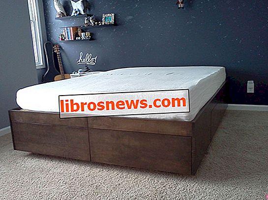 Tempat Tidur Platform Dengan Laci