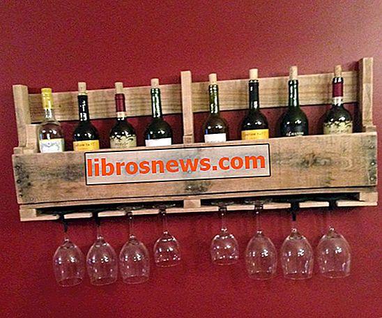 Estante de vino de paleta