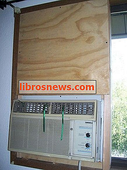 Montage d'un climatiseur standard dans une fenêtre coulissante (de l'intérieur, sans support)