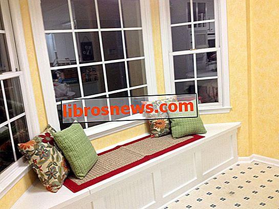 Construir un asiento de ventana con almacenamiento