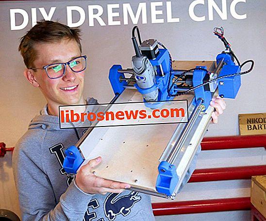 DIY 3D Dicetak Dremel CNC