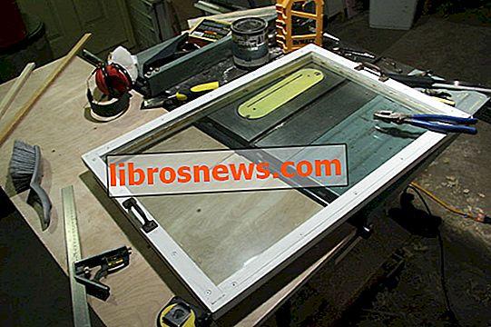 Maak een onderhoudbaar DIY-raam met dubbele beglazing