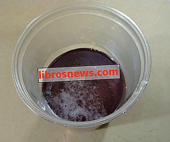 Cómo hacer silicato de sodio - vaso de agua