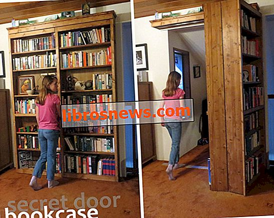 Rak Buku Pintu Rahsia