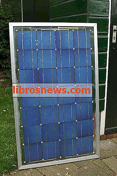 Pannello solare fatto in casa