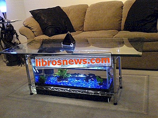 Tavolino da Acquario
