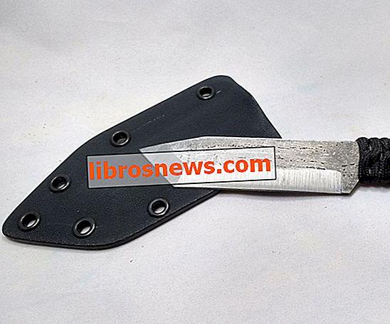 Basit bir Kydex Bıçak Kılıfı Yapımı