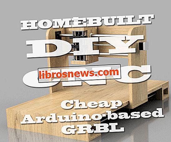 Router di CNC (fai-da-te) fatto in casa - basato su Arduino (GRBL)