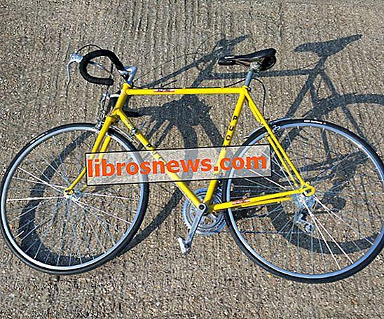 古い自転車を復元する