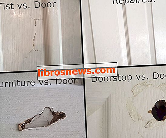 Cara Memperbaiki Lubang di Pintu Inti Berongga