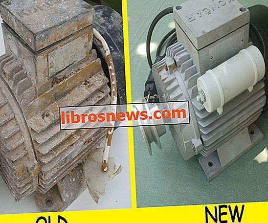Rebobinado y renovación del motor eléctrico.