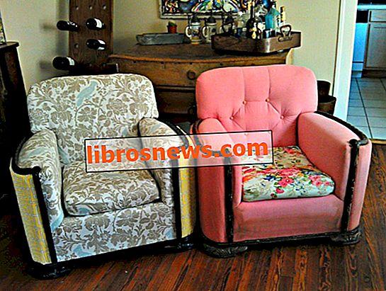 Wie man einen Stuhl neu polstert