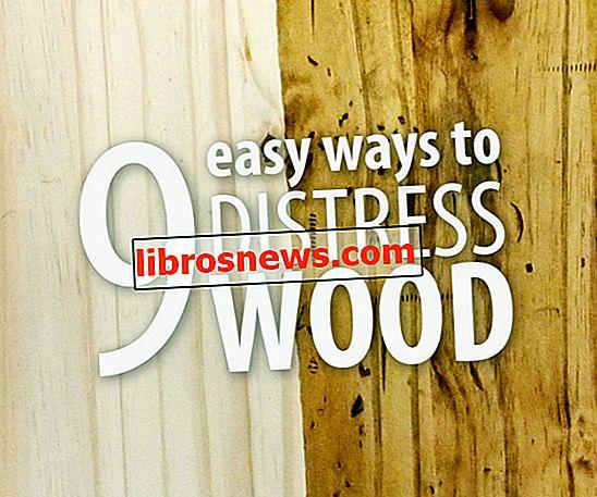 9 semplici modi per affliggere il legno