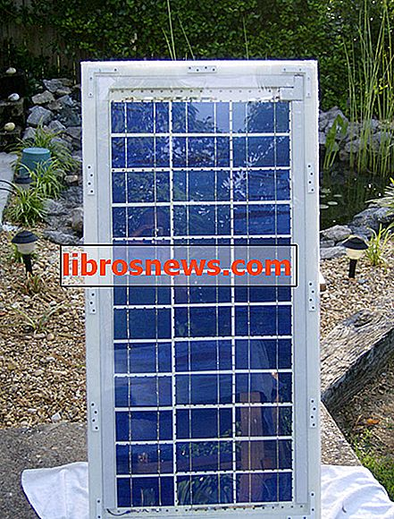 Cómo construir un panel solar
