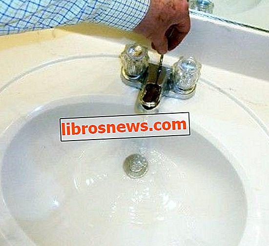 Reparieren Sie einen Spülenstopper