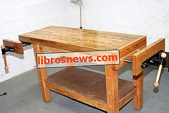 Construyendo un banco de trabajo real para carpinteros