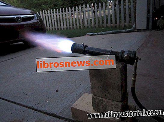 Cómo construir un quemador de fragua de gas
